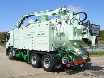 BioTrans tankbil til tømning af biotank for biomasse